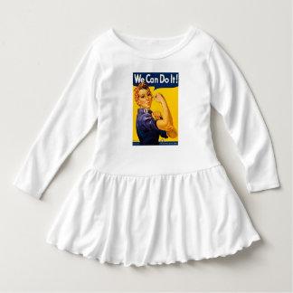 Rosieリベッターのヴィンテージのレトロ私達はそれをしてもいいです! ドレス