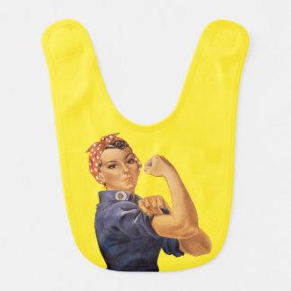 Rosieリベッターのヴィンテージの青私達は黄色いそれをしてもいいです ベビービブ