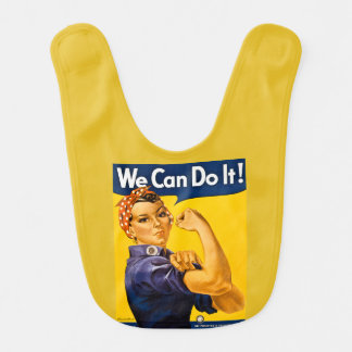 Rosieリベッターの第2次世界大戦のヴィンテージ私達はそれをしてもいいです! ベビービブ