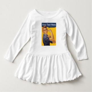 Rosieリベッター私達はそれをしてもいいです! ここのあなたの文字 ドレス