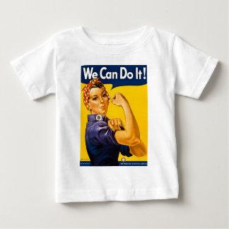 Rosieリベッター私達はヴィンテージそれをしてもいいです ベビーTシャツ