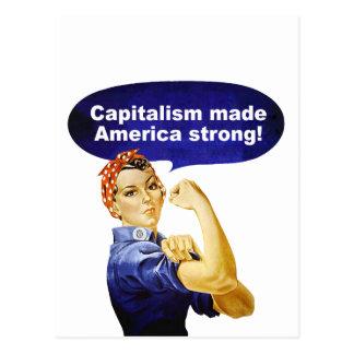 Rosieリベッター資本主義の郵便はがき ポストカード