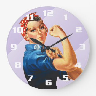 Rosieリベッター ラージ壁時計