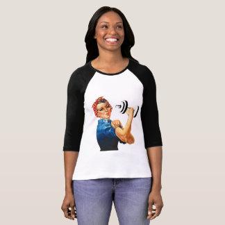 Rosie力の揚げべら Tシャツ
