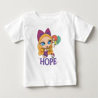 """Rosie及びRocketteの""""希望""""のベビーのTシャツ ベビーTシャツ"""