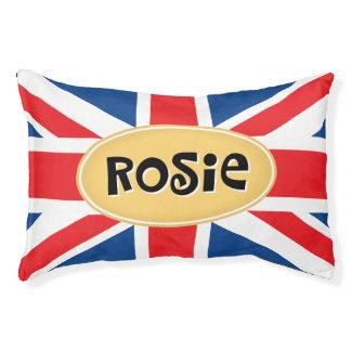 Rosie名前入りなイギリス スモールドッグベッド