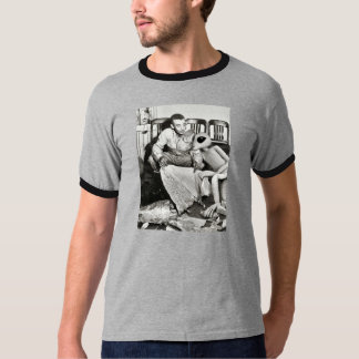 Roswellの外国の訪問 Tシャツ
