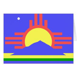 Roswellの旗 カード