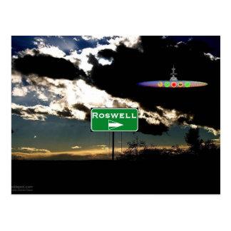 Roswellを見つけること ポストカード