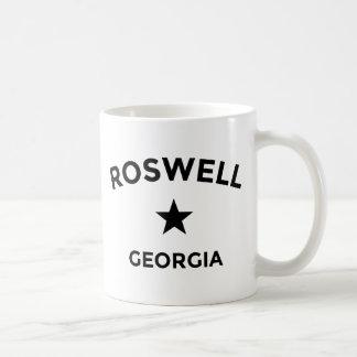 Roswellジョージアのマグ コーヒーマグカップ
