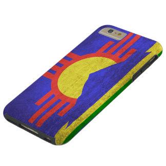 Roswellニューメキシコのヴィンテージのグランジな旗 Tough iPhone 6 Plus ケース