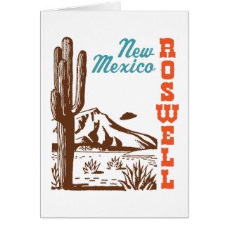 Roswellニューメキシコ カード