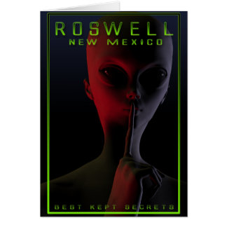 Roswell旅行ポスター2 カード