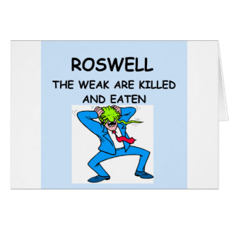 ROSWELL カード
