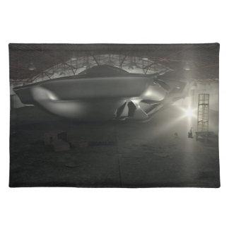 Roswell UFOの格納庫 ランチョンマット