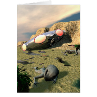 Roswell UFOの衝突カード カード