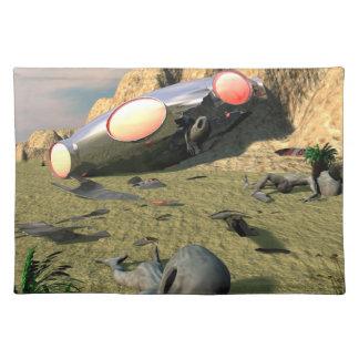 Roswell UFOの衝突 ランチョンマット