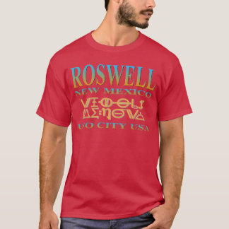 Roswell UFO都市 Tシャツ