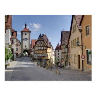 Rothenburg ポストカード