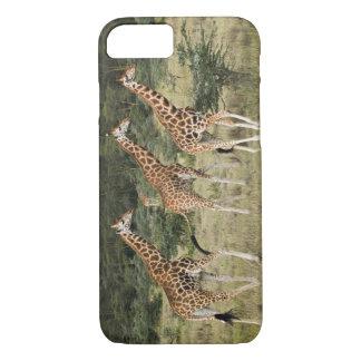 Rothschildのキリンのトリオ、湖Nakuru iPhone 8/7ケース