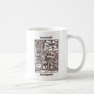 Rotschmidt -金属細工人 コーヒーマグカップ