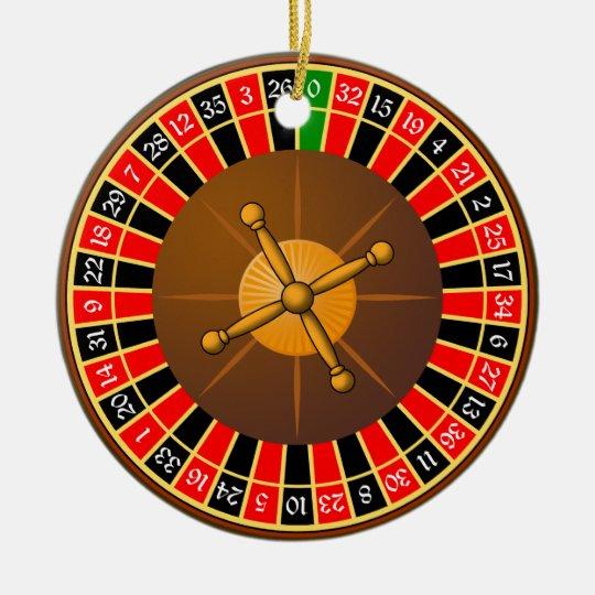 roulette セラミックオーナメント