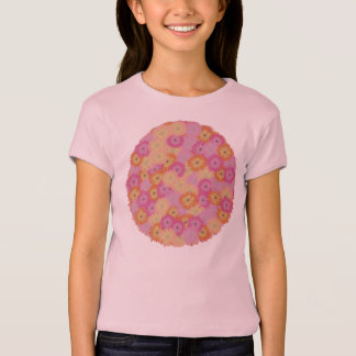 Round Flower Tシャツ