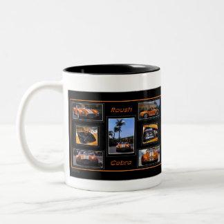 ROUSHのコブラのコーヒーカップ ツートーンマグカップ