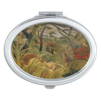 Rousseauのトラのポケット鏡