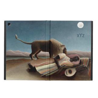 Rousseauの睡眠のジプシーのケース iPad Airケース