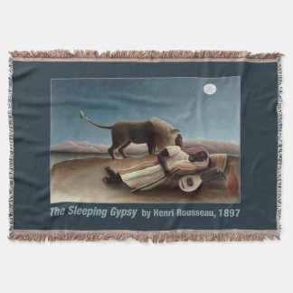 Rousseauの睡眠のジプシーの投球毛布 スローブランケット