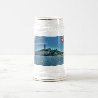 Rovinj、クロアチアステイン ビールジョッキ