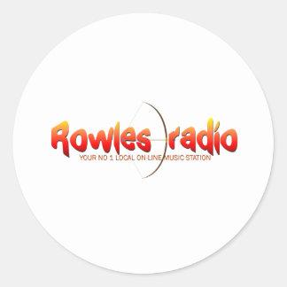 Rowlesの無線ネットワーク ラウンドシール