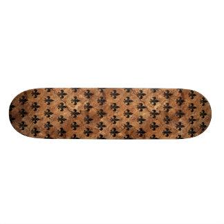 ROYAL1黒い大理石及びブラウンの石 スケートボード