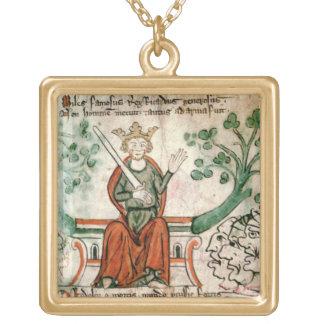 royal 20 A11リチャード一世(1157-99年)氏(ライオンHea ゴールドプレートネックレス