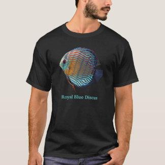 Royal Blue Discus Tシャツ