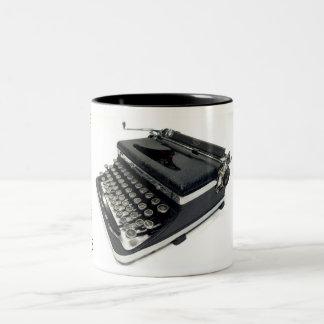 royal De Luxeタイプライター- 1936年 ツートーンマグカップ
