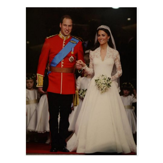 royal wedding ポストカード