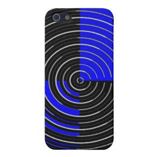 RoyalBlueの場合の精通した無光沢の終わりのiPhone 5/5Sの場合 iPhone 5 Case