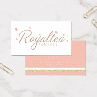 Royalteaのレンタルの名刺 名刺