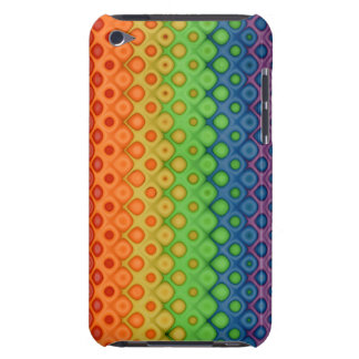 ROYGBIVの虹の泡によって歪められる色 Case-Mate iPod TOUCH ケース
