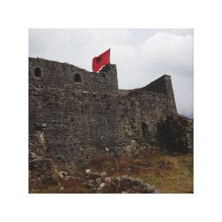 Rozafaの城Shkoder キャンバスプリント