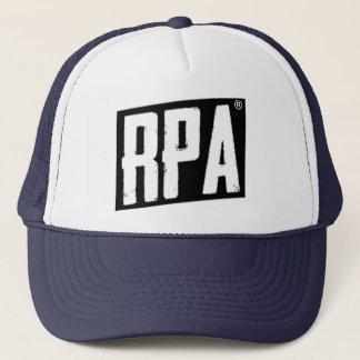 RPA™のスタイルのトラック運転手の帽子白および海軍 キャップ