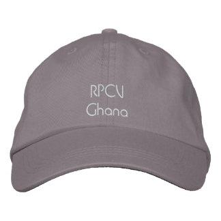 RPCVガーナの帽子 刺繍入りキャップ