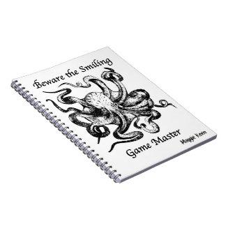 RPGのゲーマーのノート ノートブック