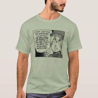 RPGsの王: Gamemasterの信条 Tシャツ