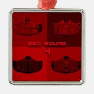 RS4赤 メタルオーナメント