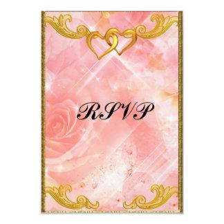 RSVPのエレガントでシンプルな結婚式招待状 8.9 X 12.7 インビテーションカード