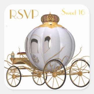 RSVPの菓子16 スクエアシール