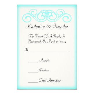 RSVPを結婚するおとぎ話スクロール カード